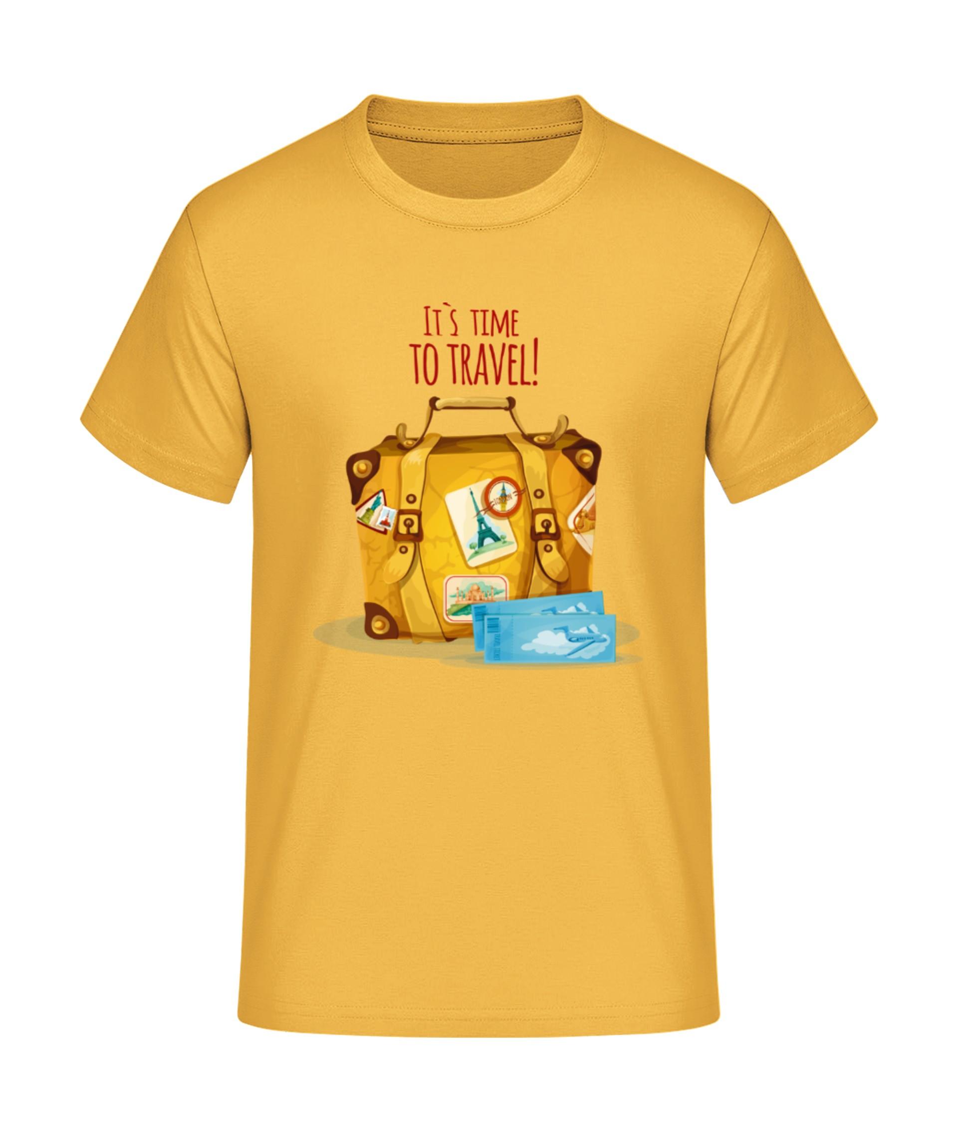 pick up 518b5 16e50 Time to Travel - T-Shirt Druck