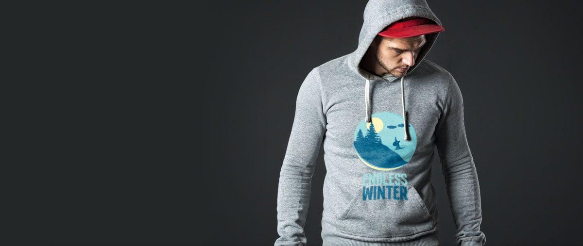 Sweatshirts selbst gestalten und günstig bedrucken lassen